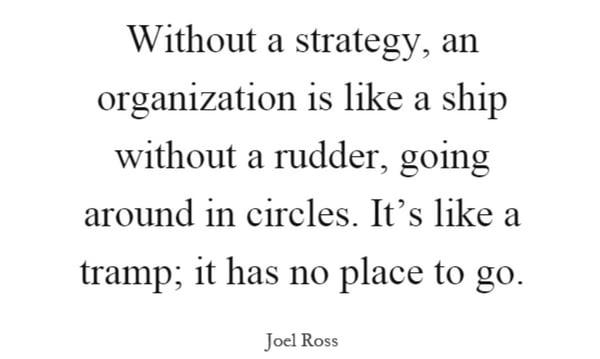 without-strategy-organization-like-ship
